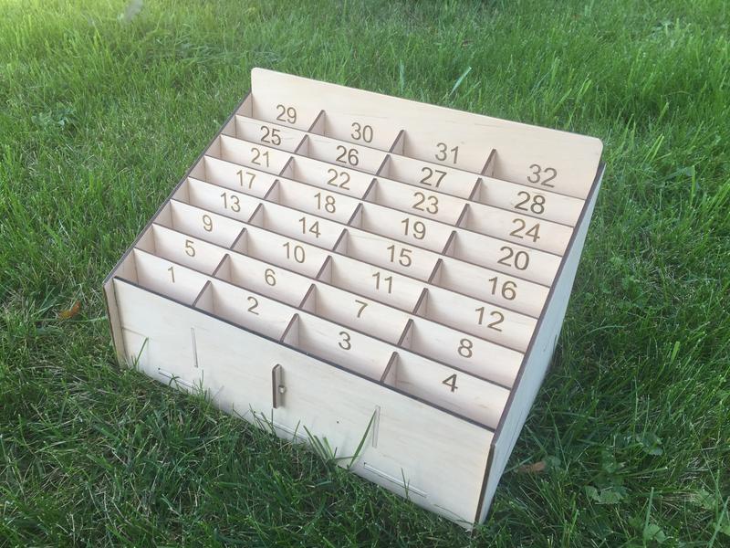 Коробка ящик органайзер для мобільних телефонів в клас   Коробка органайзер для мобильных телефонов
