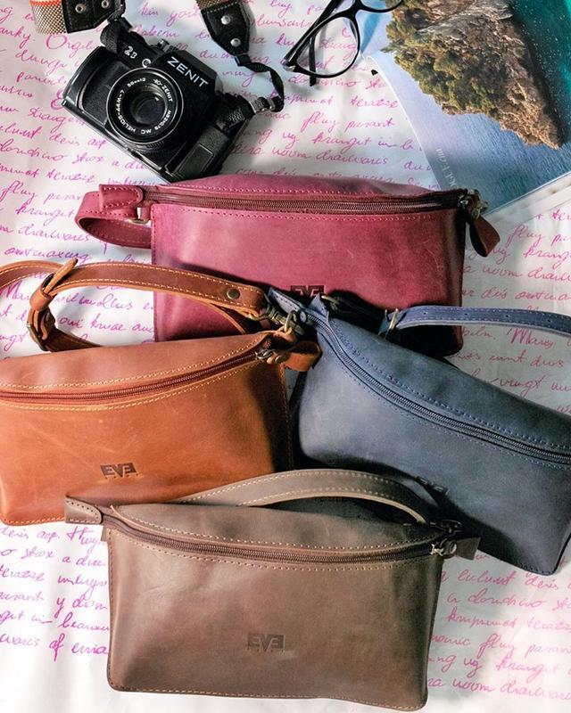 402a730cf4c4 Кожаная поясная сумка
