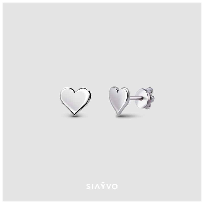 Сережки-пусети Heart