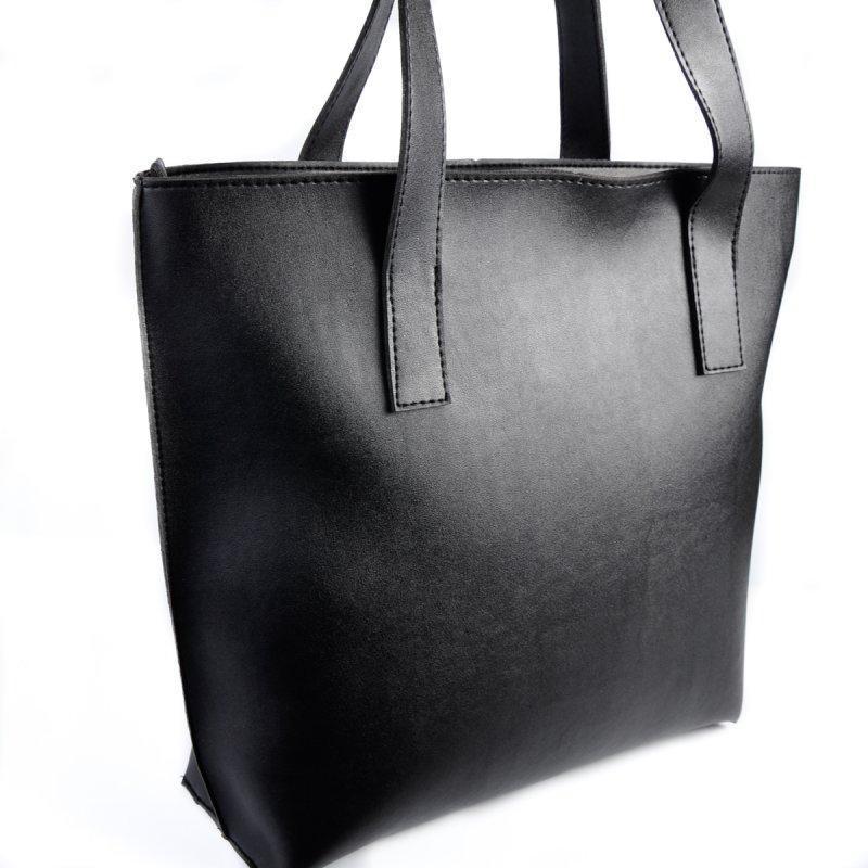 bbeba1f73f9e Сумка-шоппер Черная ручной работы купить в Украине. №300501