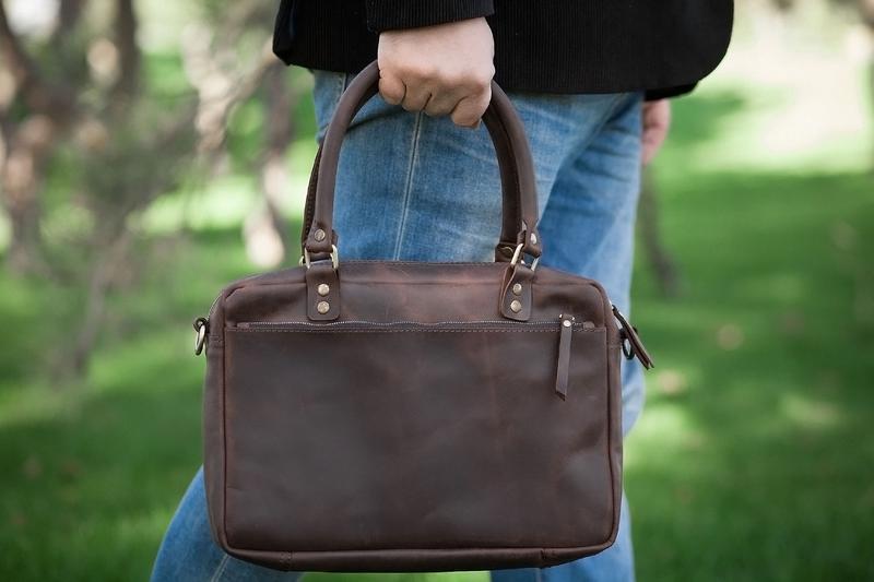 a62a5e2124c5 Кожаная сумка для ноутбука ручной работы купить в Украине. №301125