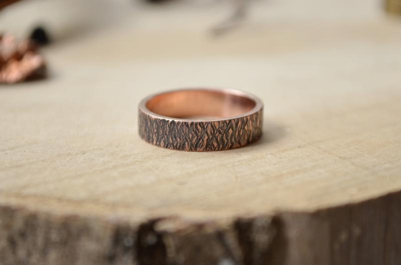 Медное Кованное кольцо Степные травы №301803 - купить в Украине на Crafta.ua