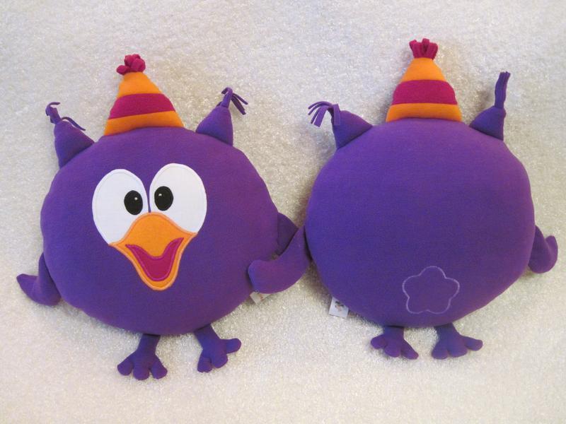 Мягкая игрушка - подушка Смешарики сова Совунья