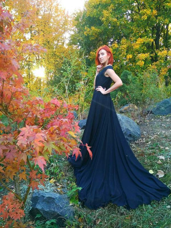 """Будуарное платье """"BlackButterfly"""""""