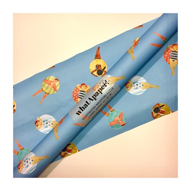 упаковочная бумага для подарков whatApaper! лето