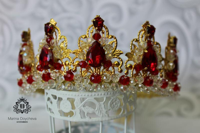 Корона под заказ в любом цвете