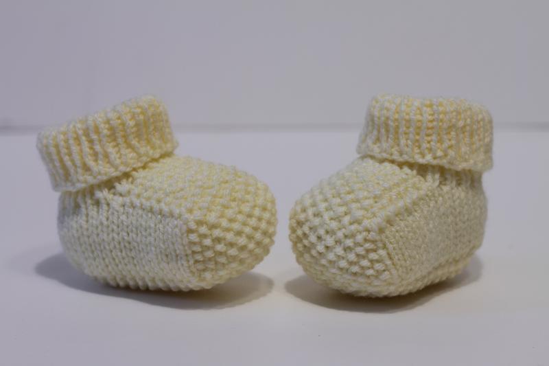 Пінетки без швів для новонароджених