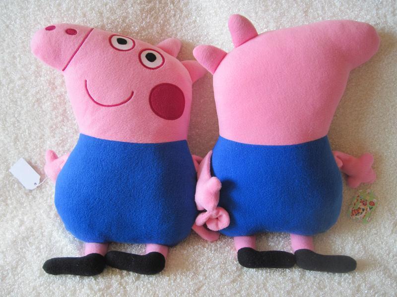 Мягкая игрушка - подушка поросенок Джордж