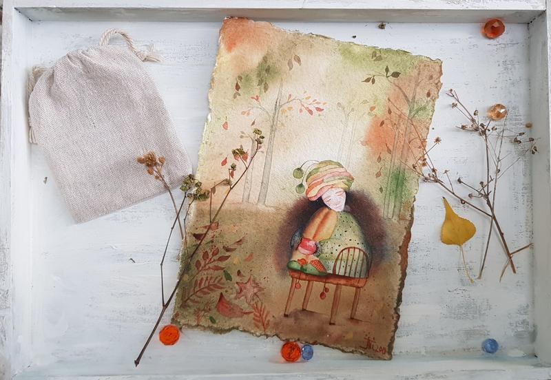 Открытки, картинки авторские открытки