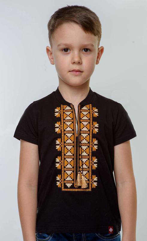 Вишиванка для хлопчика на короткий рукав ручной работы купить в ... 1ee40a9d68e60