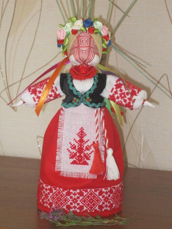 Катерина. Кукла-мотанка ручной работы купить в Украине. 31894