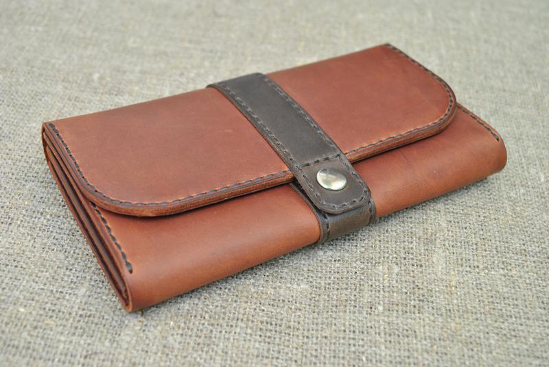 Стильный кошелек из натуральной кожи K82-210+450
