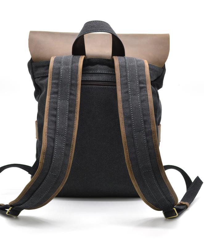 430cfc43af28 Рюкзак унисекс парусина+кожа TARWA RG-9001 ручной работы купить в ...