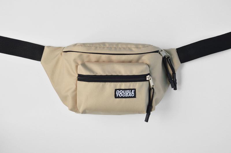 495ab06b50da Бананка бежевая, сумка на пояс, поясная сумка ручной работы купить в ...
