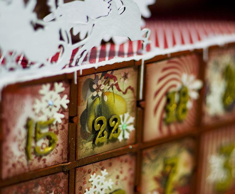 """адвент-календарь """"Ретро"""", """"Стимпанк"""""""