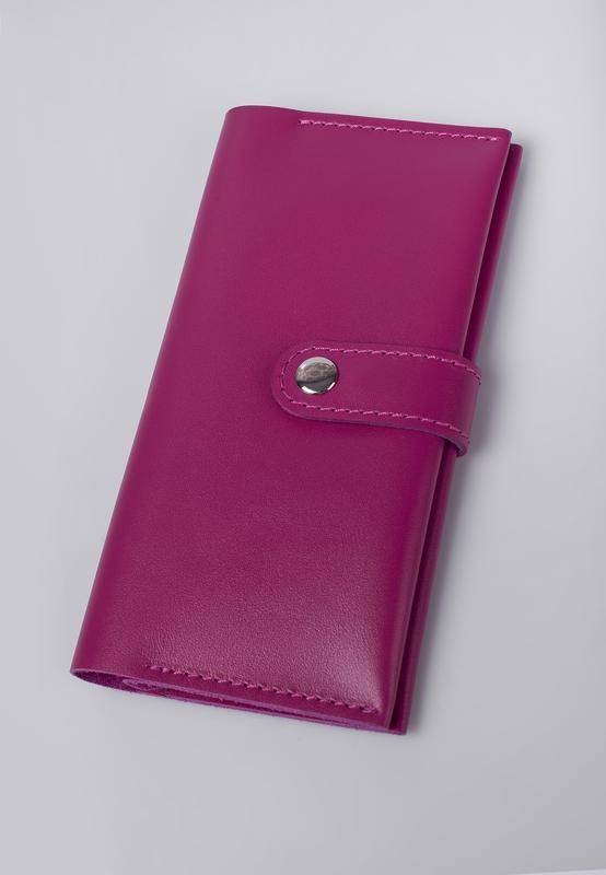 a0b0eb60747c Портмоне Klasni 0304 розовое К-03-04-10-3 ручной работы купить в ...