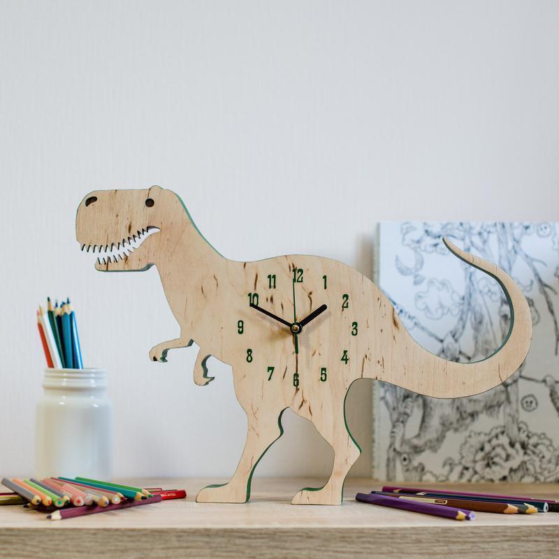 """Часы для детской """"Динозавр Рекс"""""""