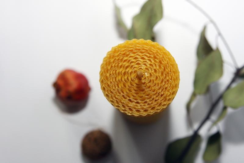 Набор восковых свечей 8.5×4.5 см, 8шт