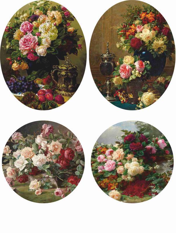 Декупажная карта Розы Натюрмор Цветы 10V 55 г/м2, А4, 210Х290 мм