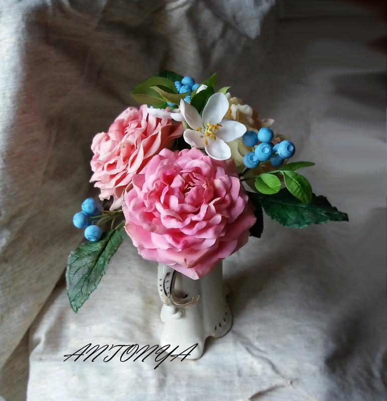 Букет Старо-английские розы