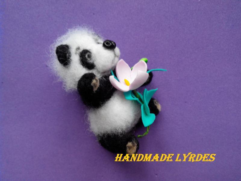 "Игрушка ""Мини панда"", 7 сантиметров"