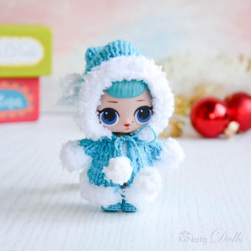 Зимове пальто з капюшоном для ЛОЛ