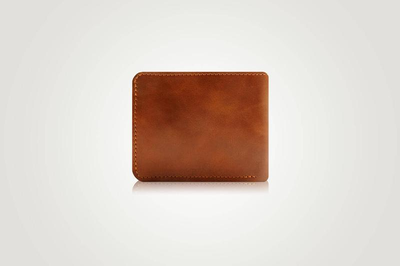 Портмоне мужское, коричневый мужской кошелек, подарки мужчинам | Putea Holysaints