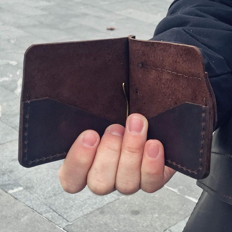 Мужской кошелек-зажим для купюр