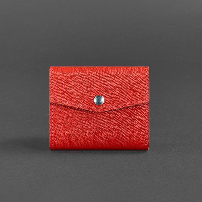 14a3d3995181 Кошелек 2.1 (красный, портофино) ручной работы купить в Украине. №344301