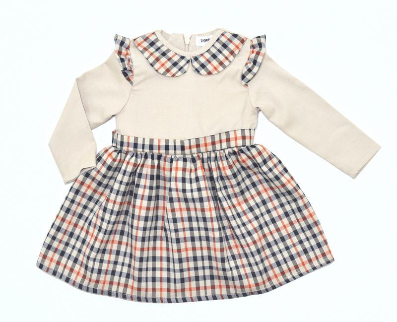 Платье bondi kids клетка беж