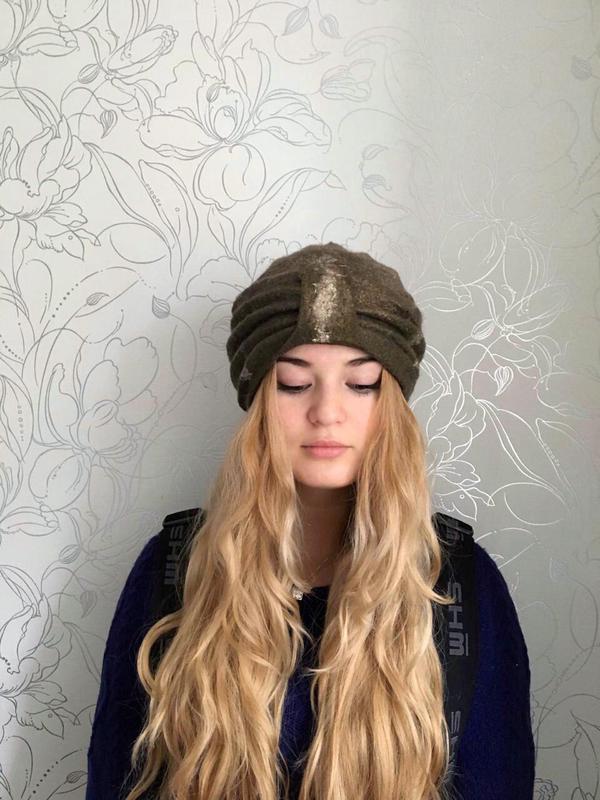 Валяная шапка»чалма»