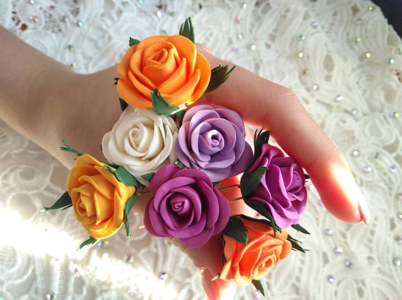 Заколка - шпилька Роза