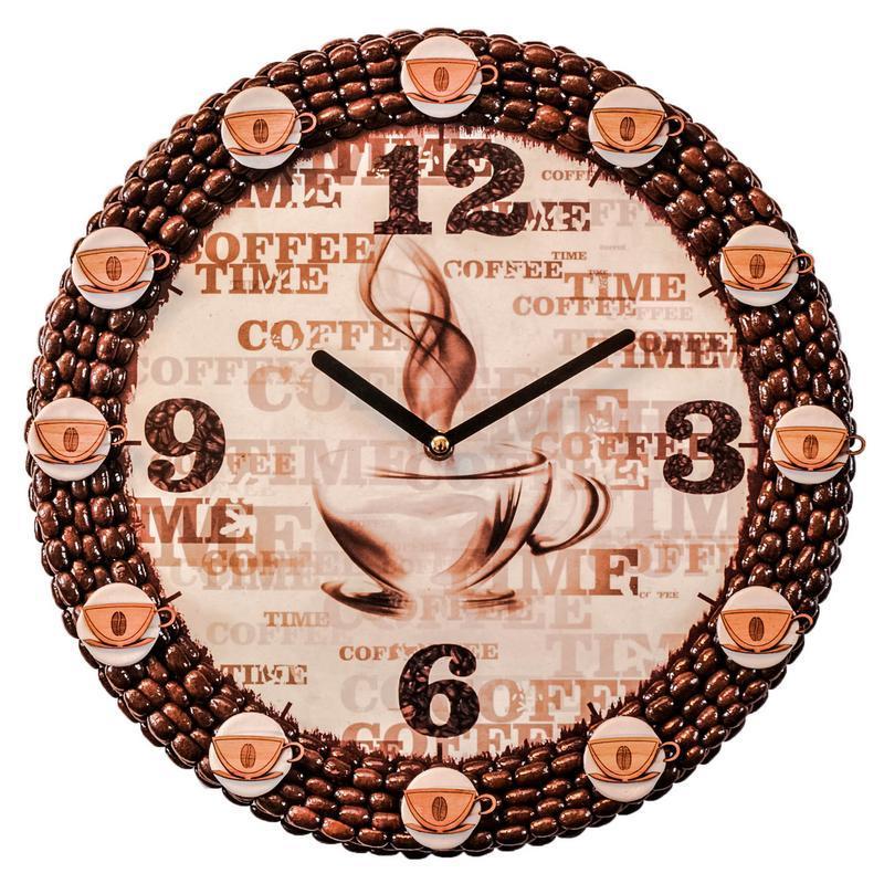 Часы в кофейном стиле своими руками 38