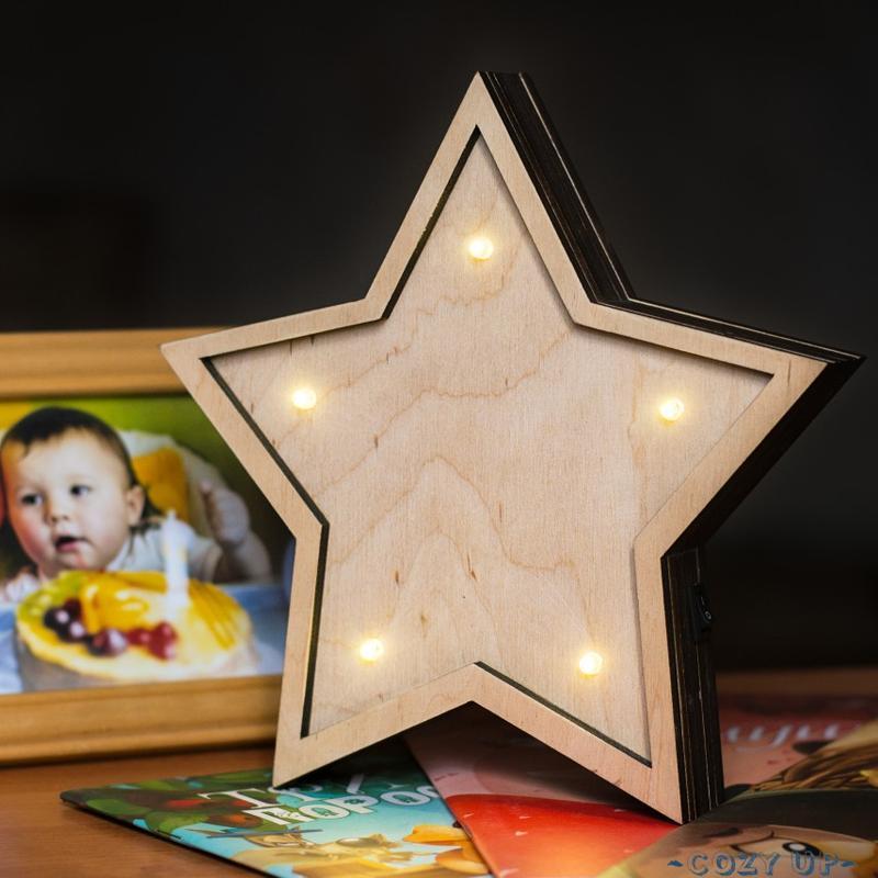 Светильник ночник звезда