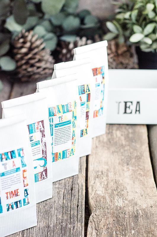Набор чая в брендируемой коробке/корпоративные подарки/сувенир/универальный подарок подарочный