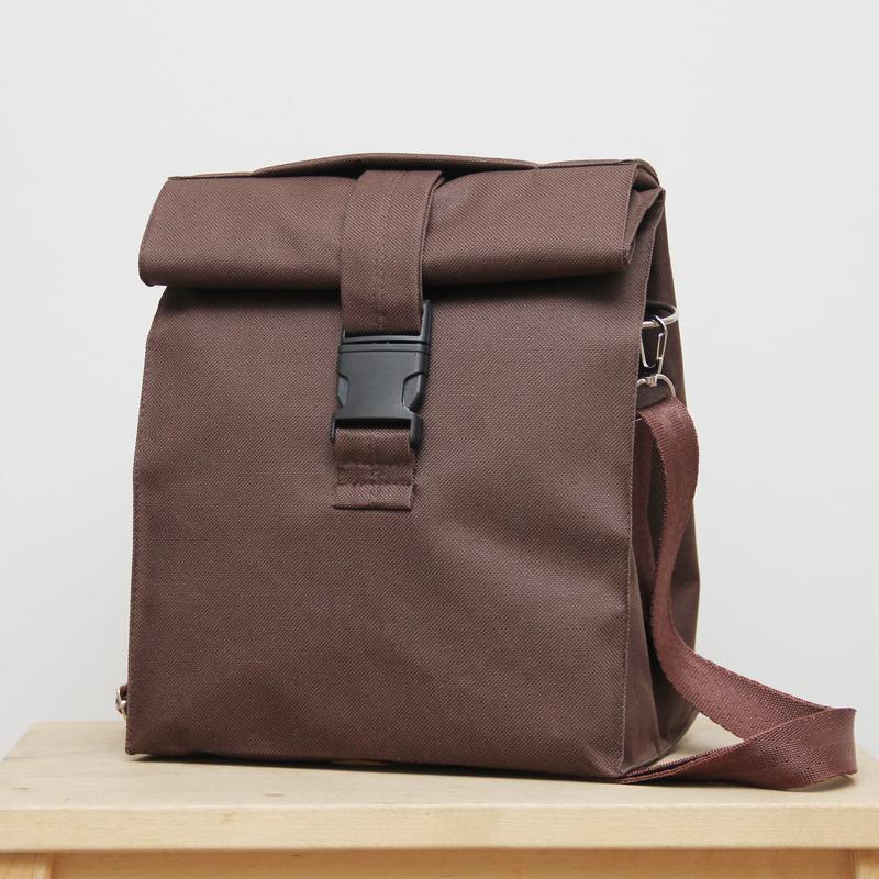 Черная термосумка lunch bag сумка для еды
