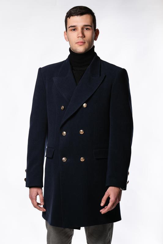Пальто чоловіче двобортне від LogerMan