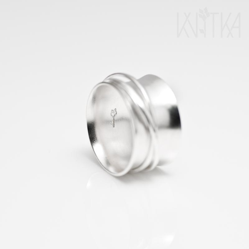 "Серебряное кольцо ""Медитация"""