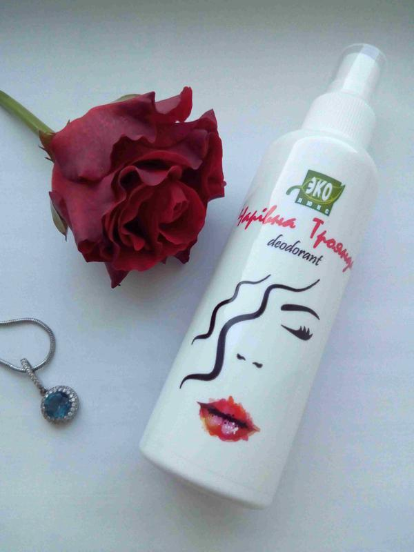 Натуральный дезодорант-спрей Волшебная роза