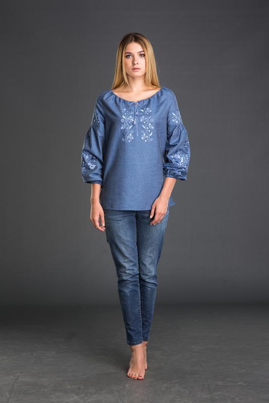 Синие вышиванки - купить изделие ручной работы Украина ab6611bc7df0f