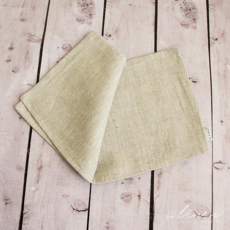 """Салфетка """"Tекстурнoе плетения"""" 100% лен. Декорирование стола. Набор льняных салфеток"""