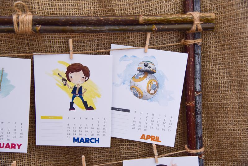 """Подарок, Календарь 2020 """"Star Wars"""""""