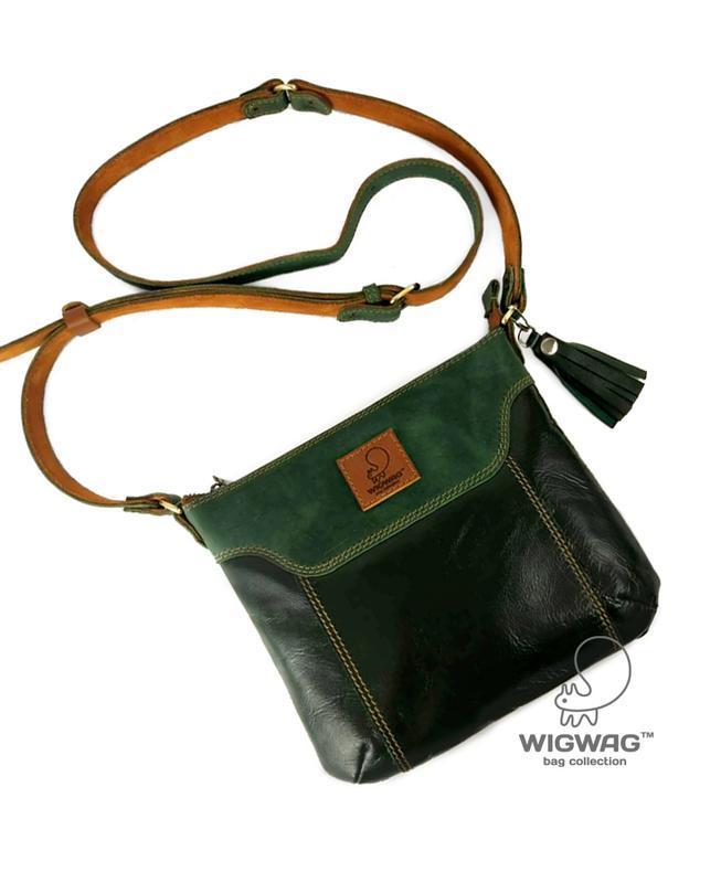 4bfcb82ac55c Небольшая женская кожаная сумка через плечо ручной работы купить в ...