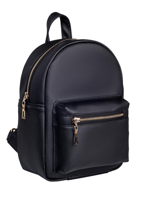 d9e629d100ef Красивый удобный женский рюкзак черный ручной работы купить в ...
