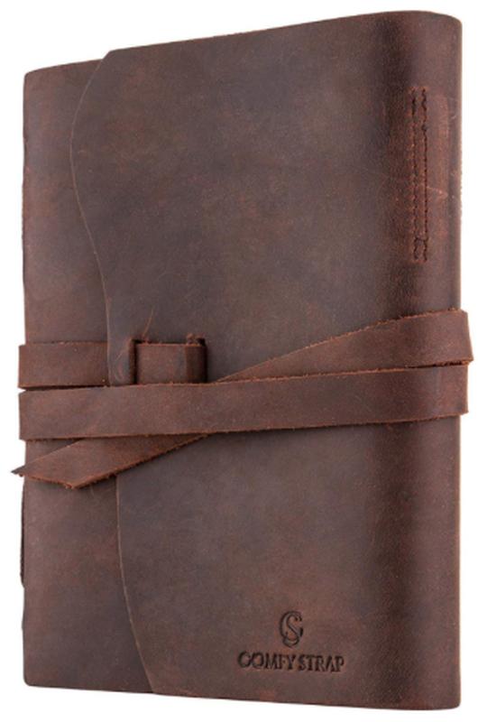 Блокнот кожаный COMFY STRAP для рисования и личных заметок VIP подарок