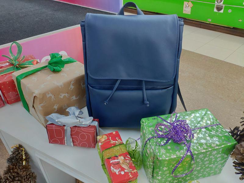 73d489af8482 Модный удобный женский рюкзак синий ручной работы купить в Украине ...