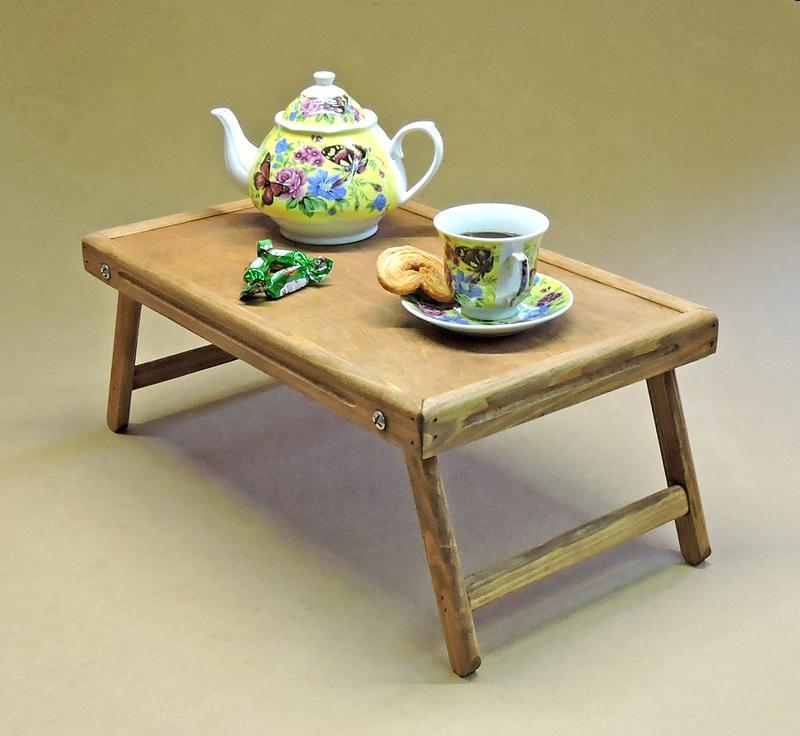 Столик-поднос для завтрака Даллас Делюкс мускат