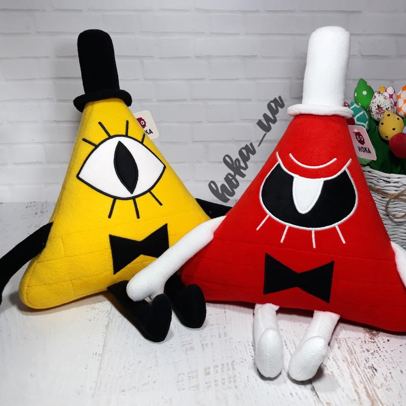 Мягкая игрушка - подушка Билл Шифр, Гравити фолз