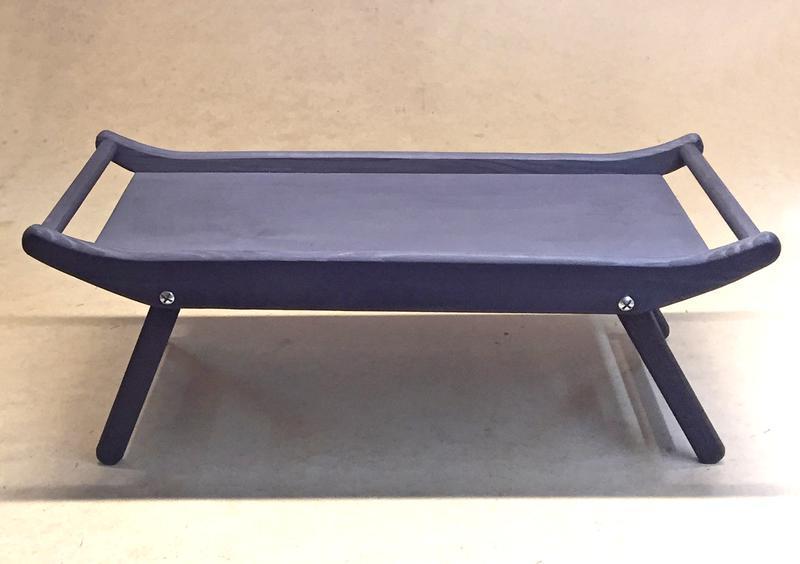 Столик-поднос с ручками Айова венге