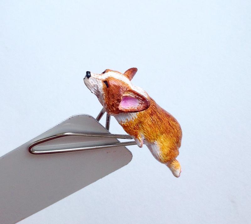 Закладка для книги Корги. Bookmark Corgi. Cute bookmark. Bookmark with dog. Kids bookmark